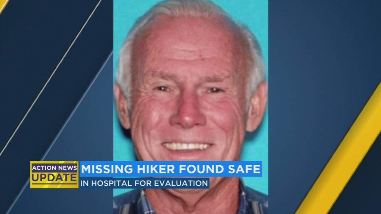 Missing 72-year-old hiker found safe at Sequoia National Park