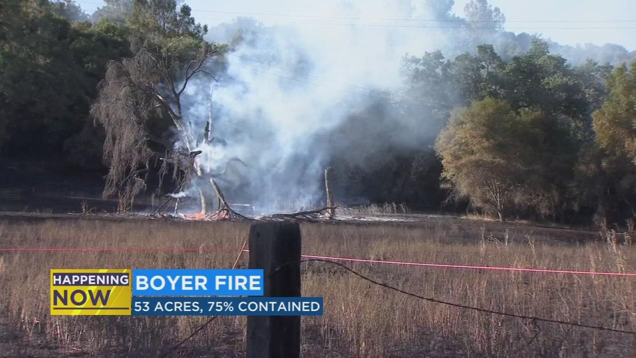 Boyer Fire evacuations lifted