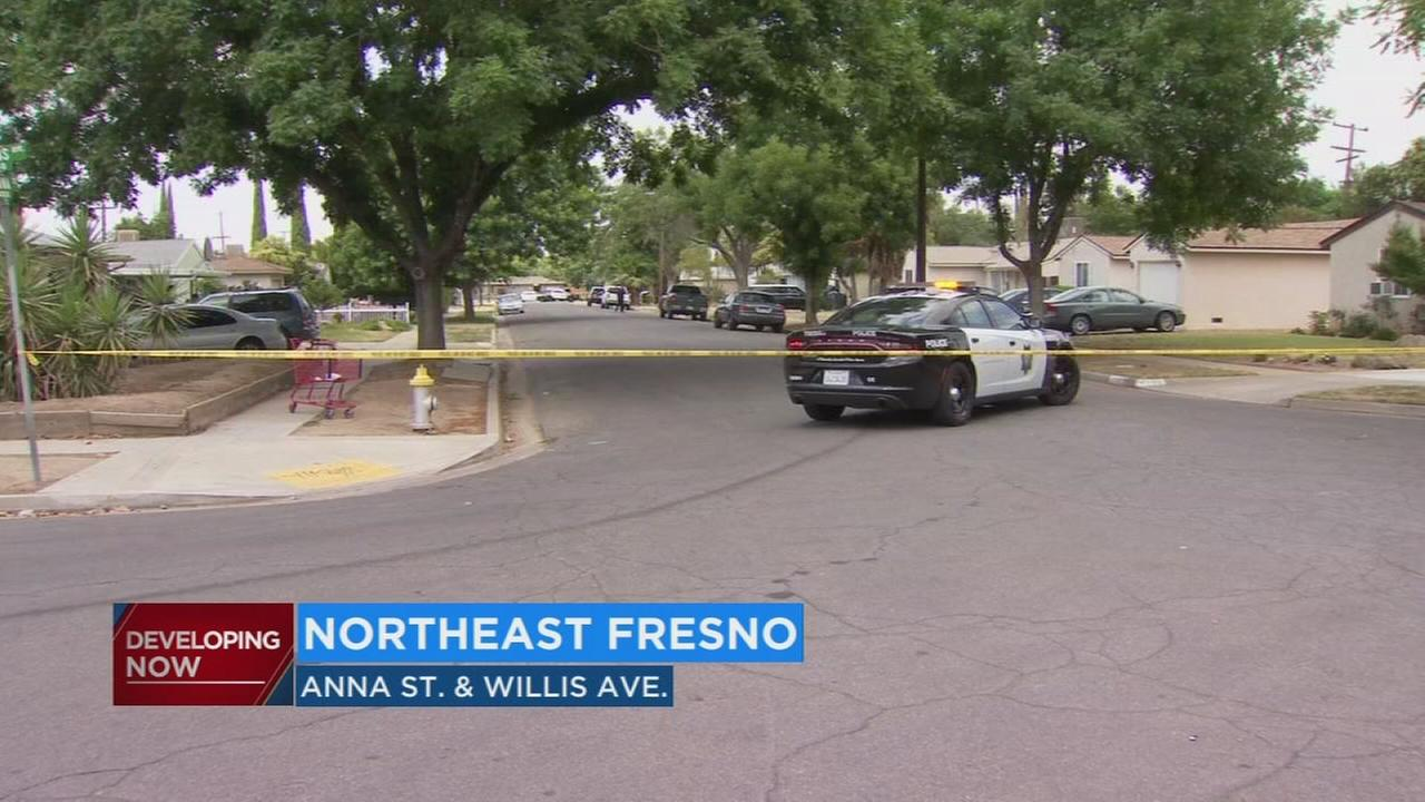 Police searching for two people in connection to Northeast Fresno shooting