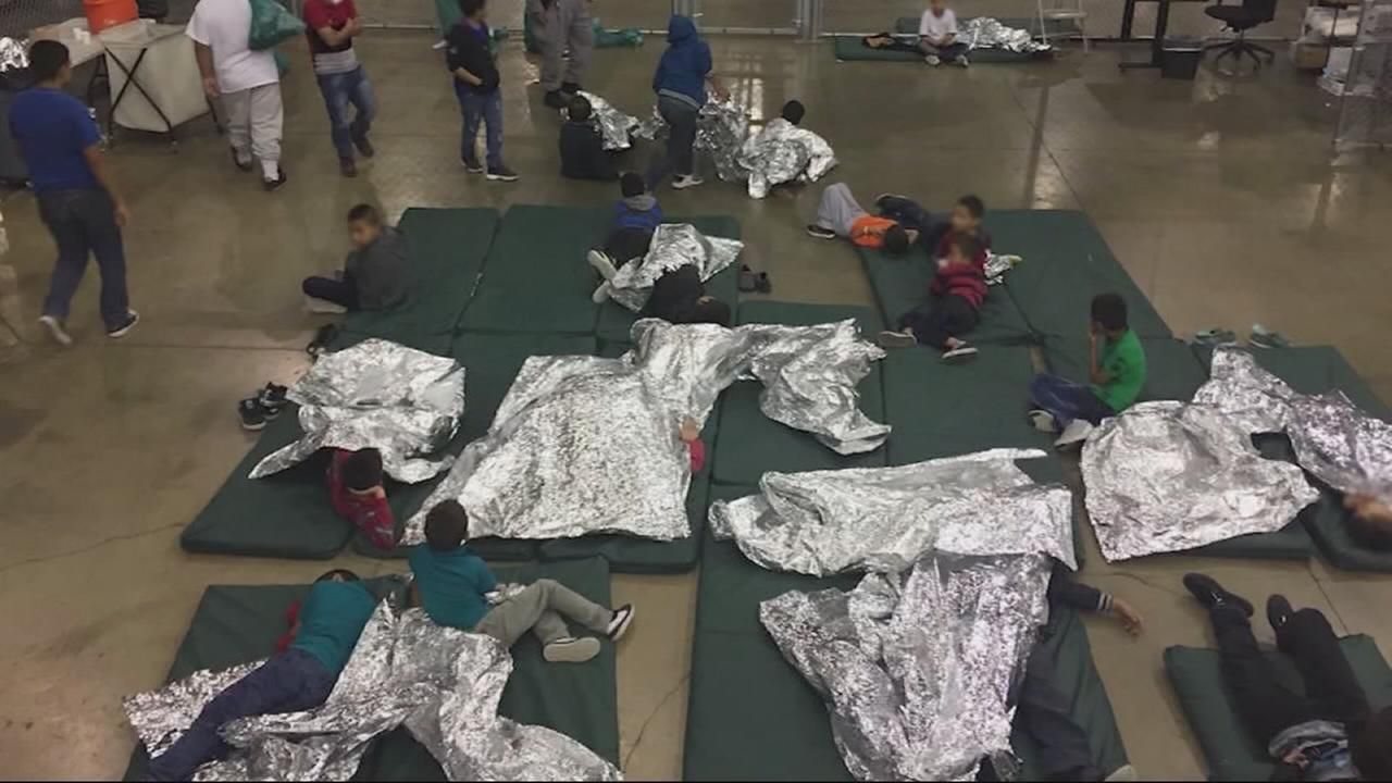 California Democrats tour housing facilities for immigrant children