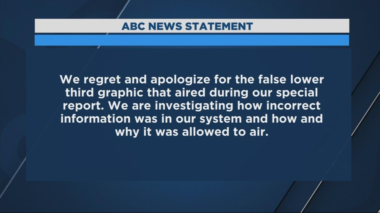 ABC apologizes for graphic about Paul Manafort during President Trump press conference