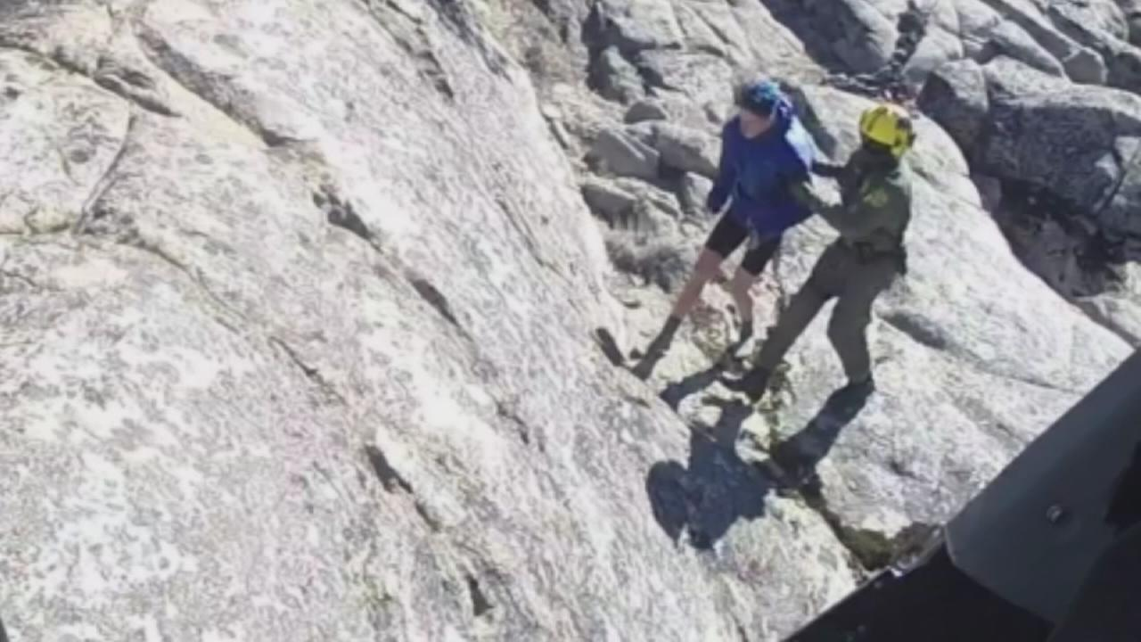 Teen rescued after he went missing overnight in the Sierra National Forest