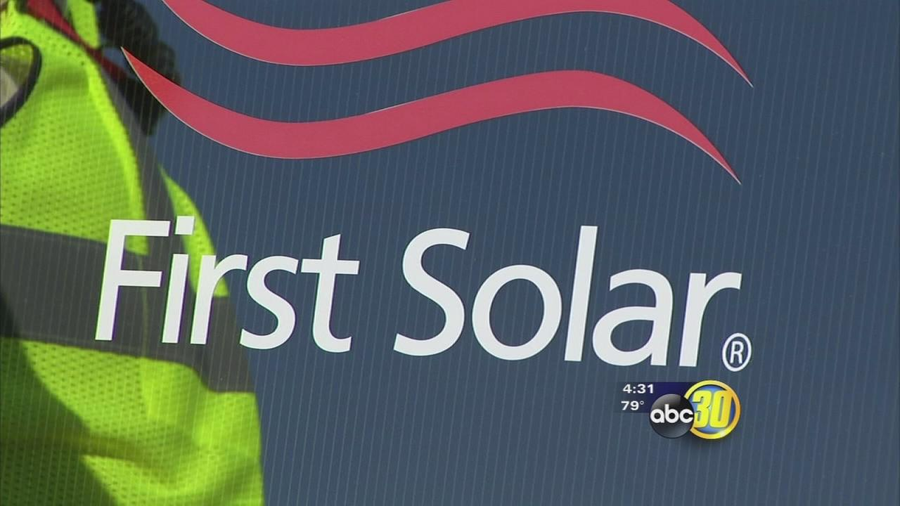 First Solar brings hundreds of jobs to Mendota