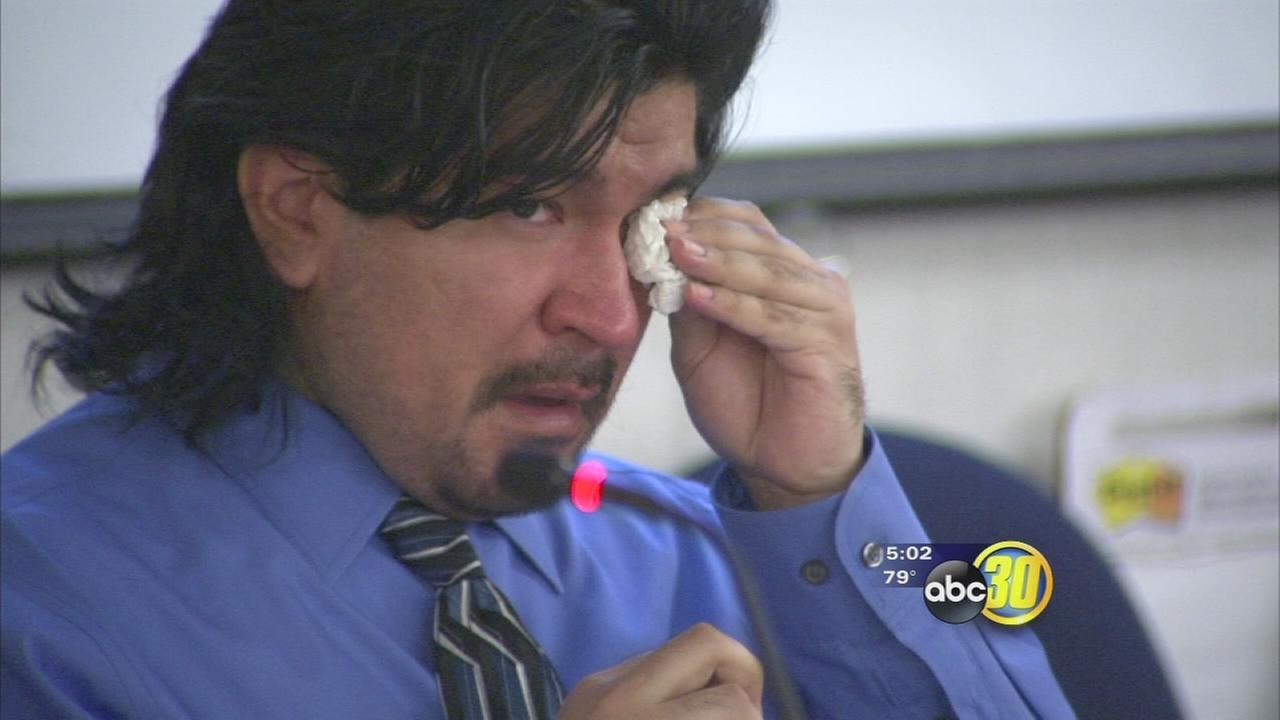 Video shows Fresno man confessing to killing mother