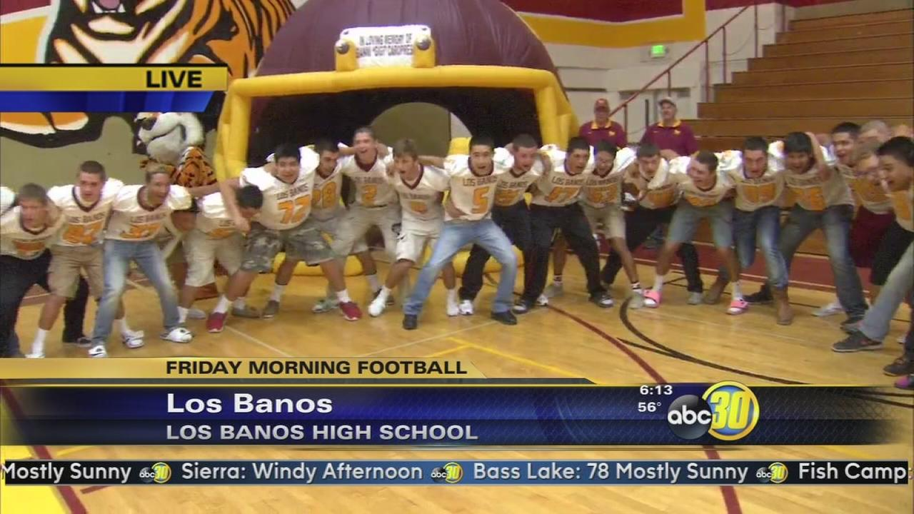 Friday Morning Football: Los Banos High School Tigers - 1 of 2