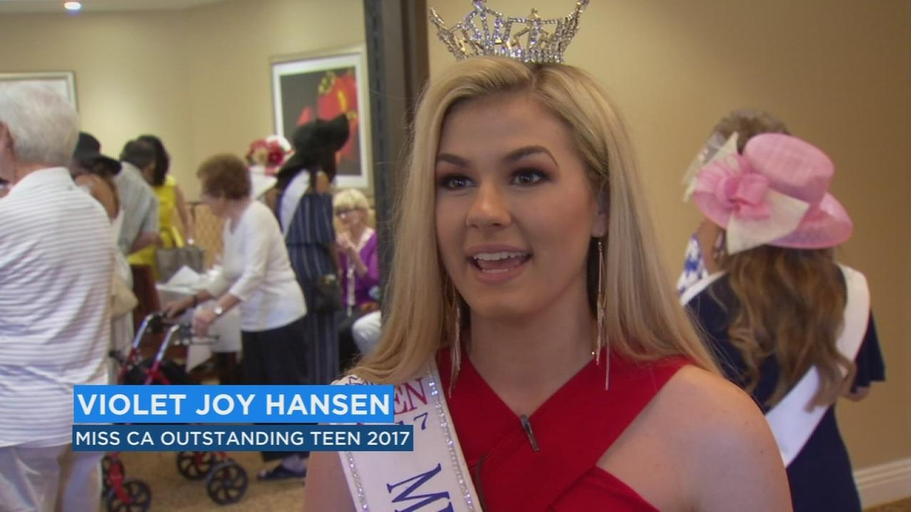 Miss California pageant contestants make a stop in the Valley