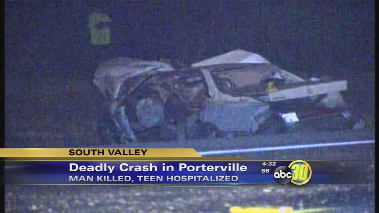 Man killed in Porterville crash identified