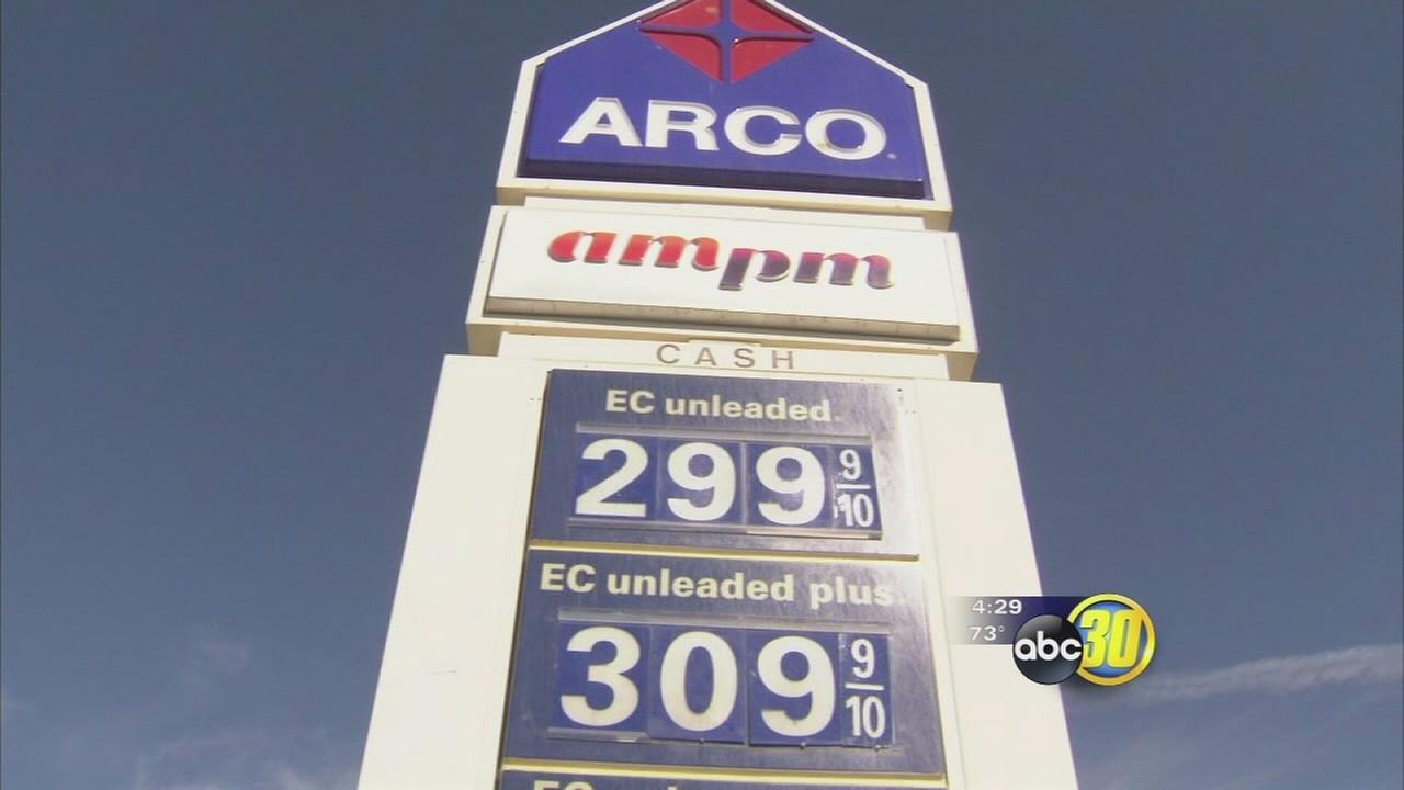 Gas selling for under $3 at some stations