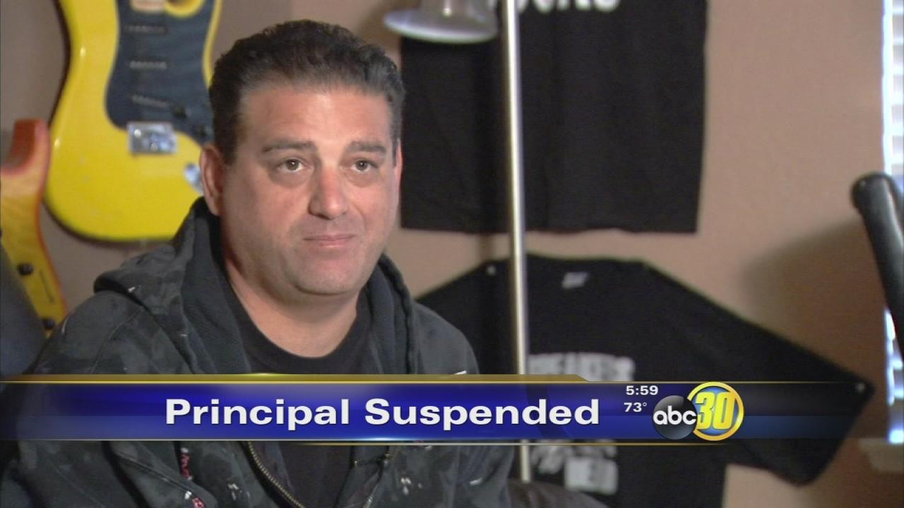 Tioga Middle School principal suspended
