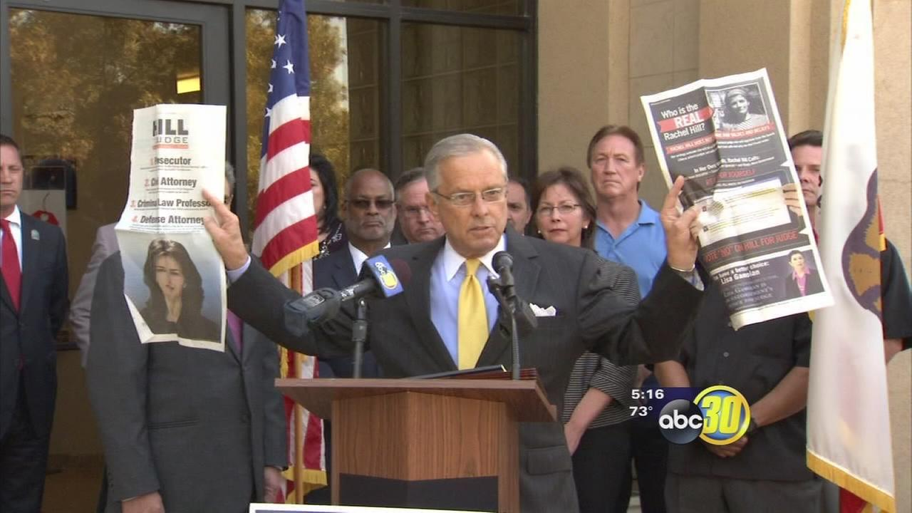 Judges race draws critics of negative campaigning