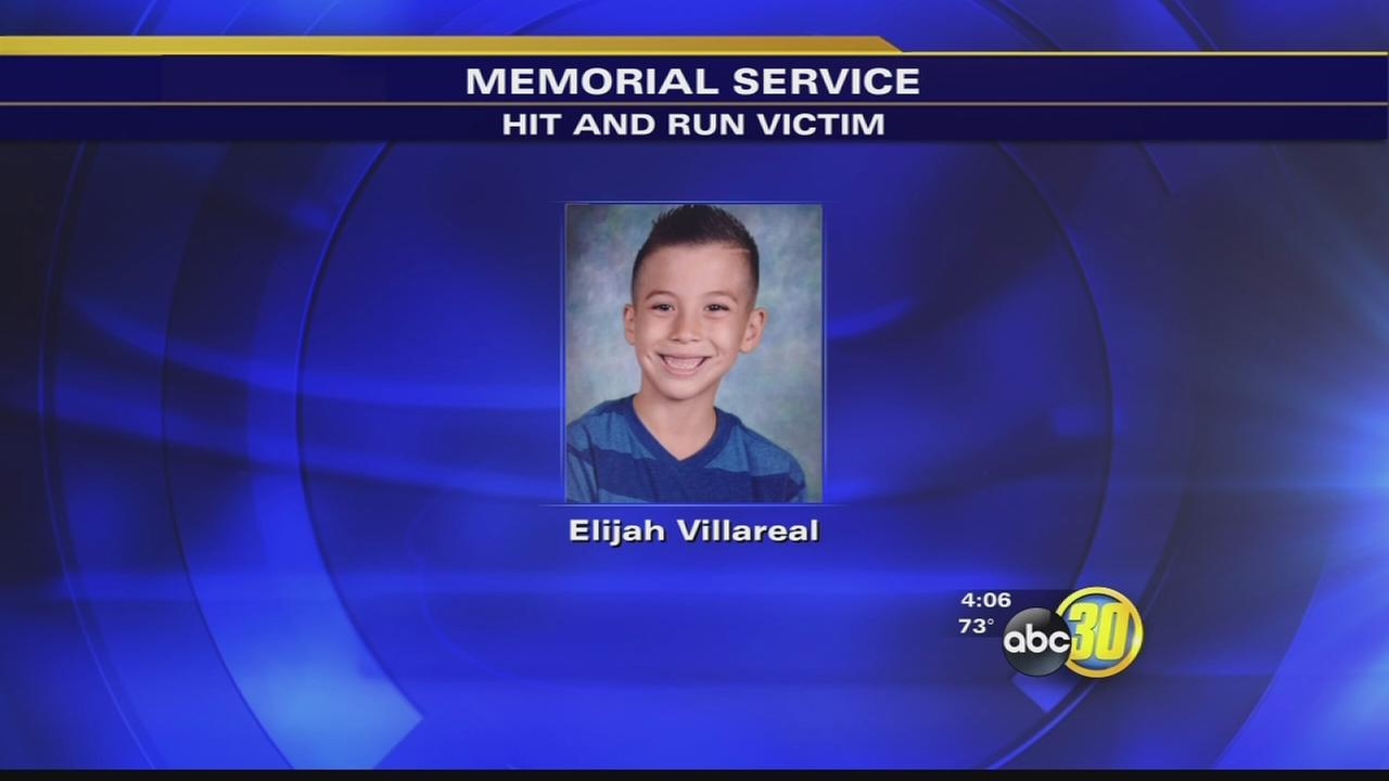 Memorial service held for boy killed in Dinuba hit-run