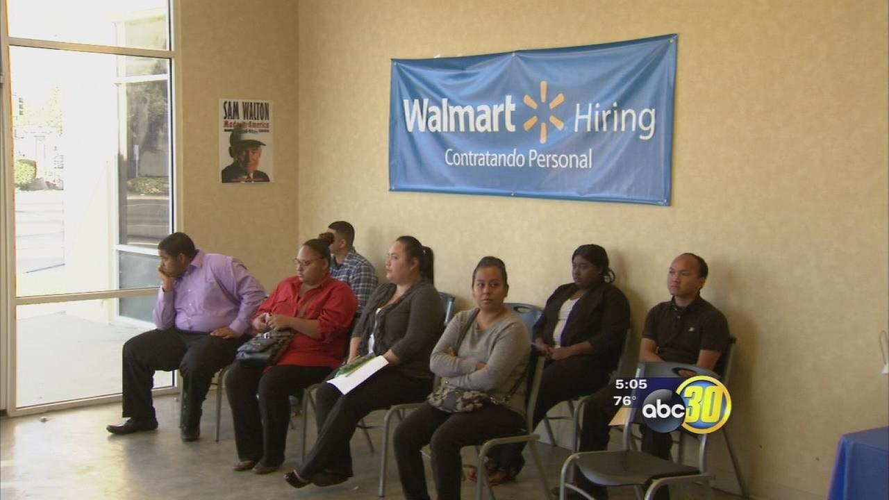 Walmart hiring 300 for new Fresno store