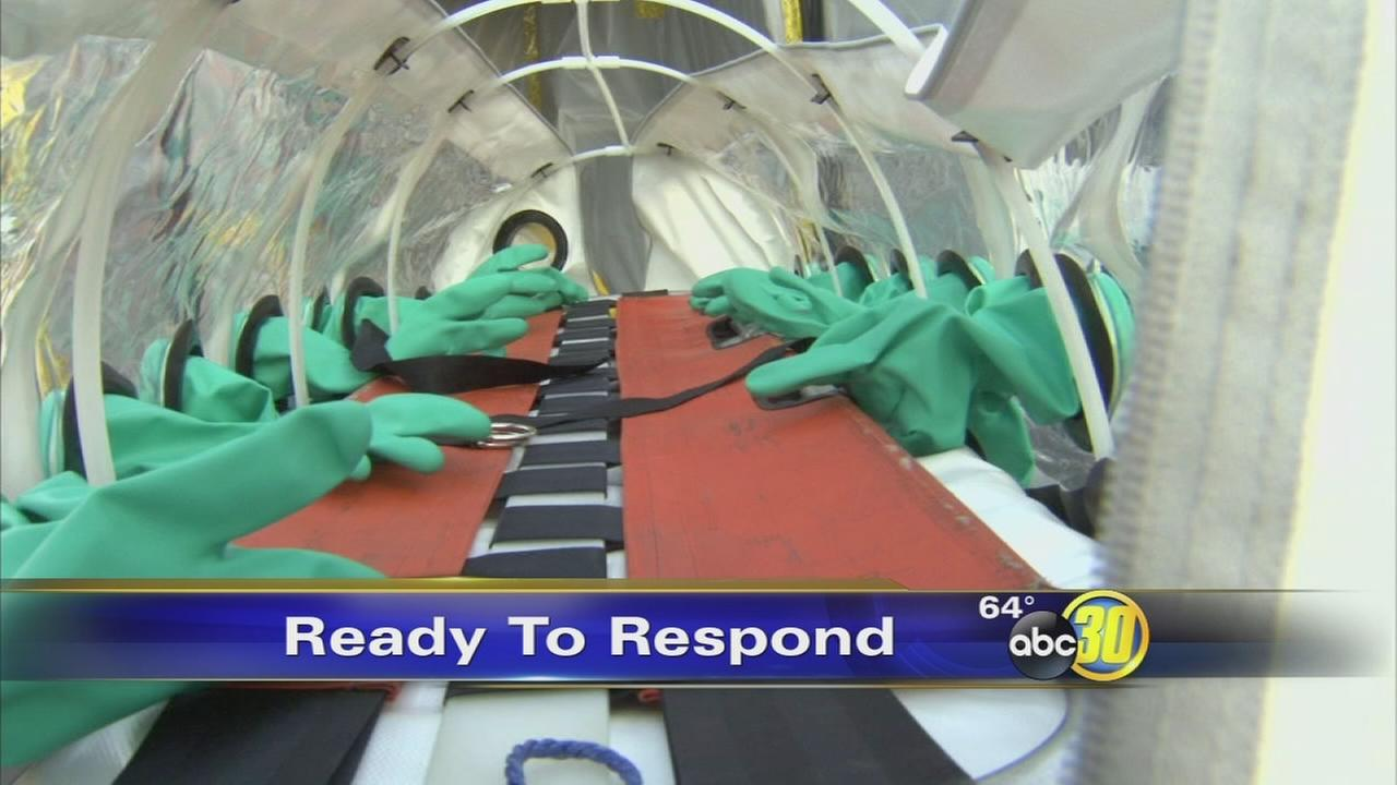 Local first responders prepare for any possible Ebola treatment