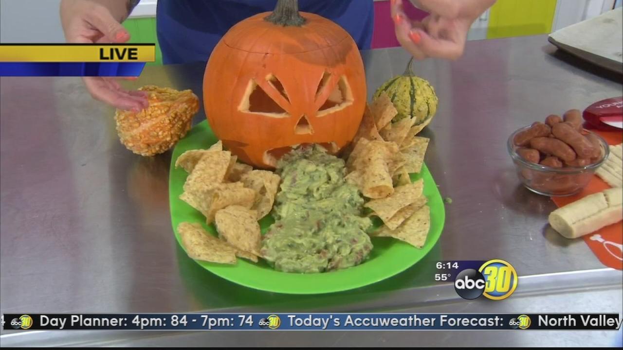 Chef Shaynas spooky Halloween snacks