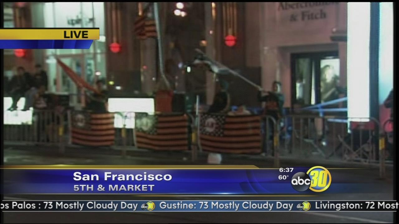 San Francisco prepares for Giants victory parade