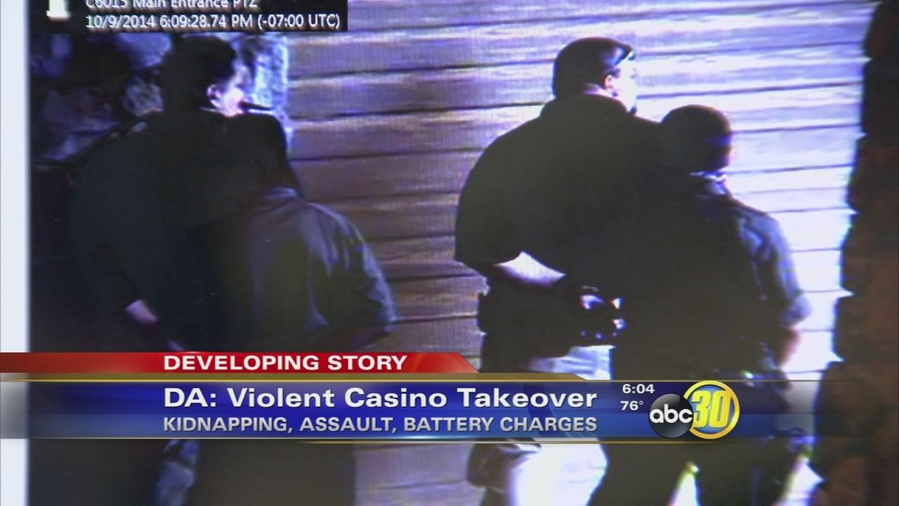 15 people charged in Chukchansi Casino takeover