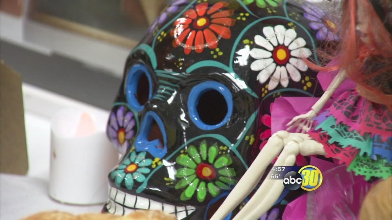 Dia De Los Muertos comes alive at Fresno school