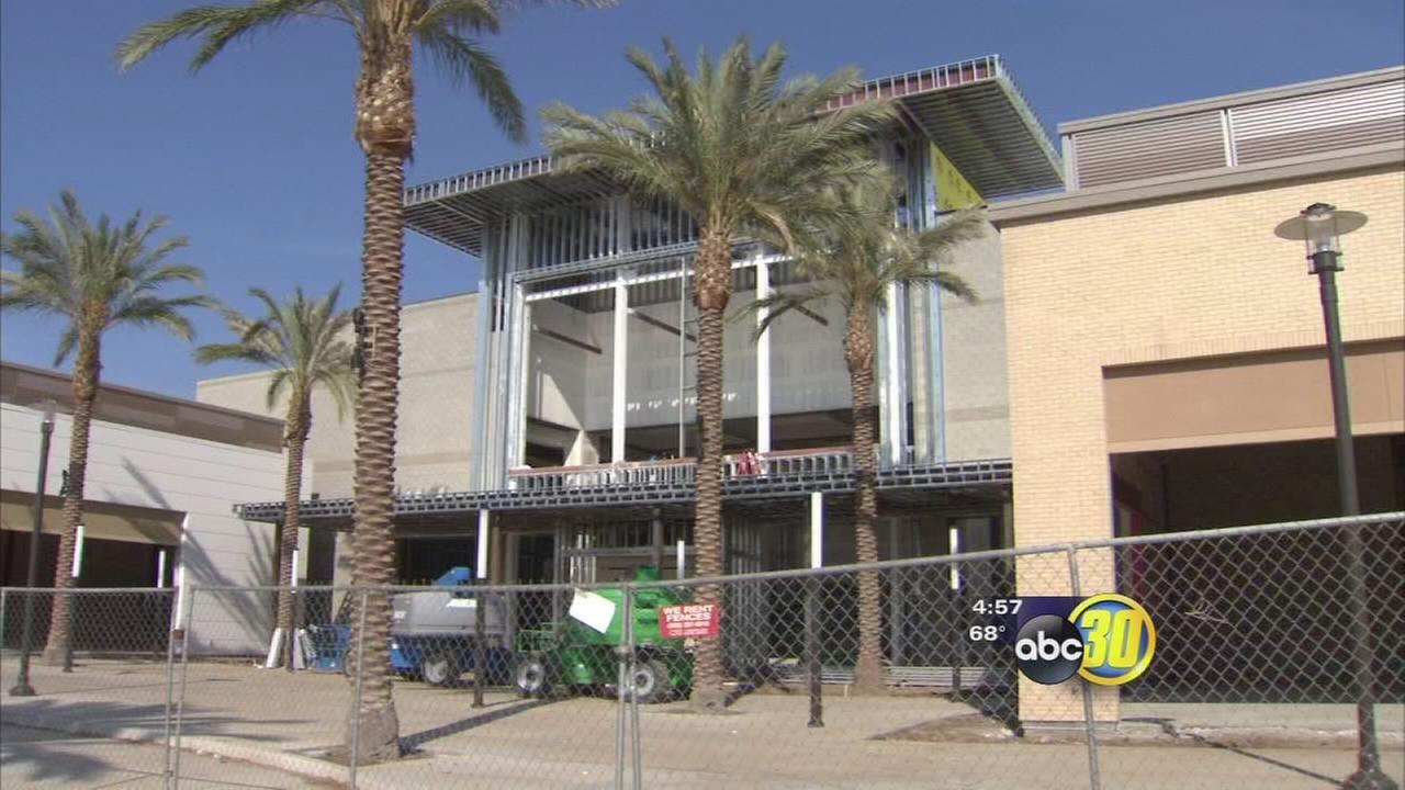 Square at Campus Pointe taking shape near Fresno State
