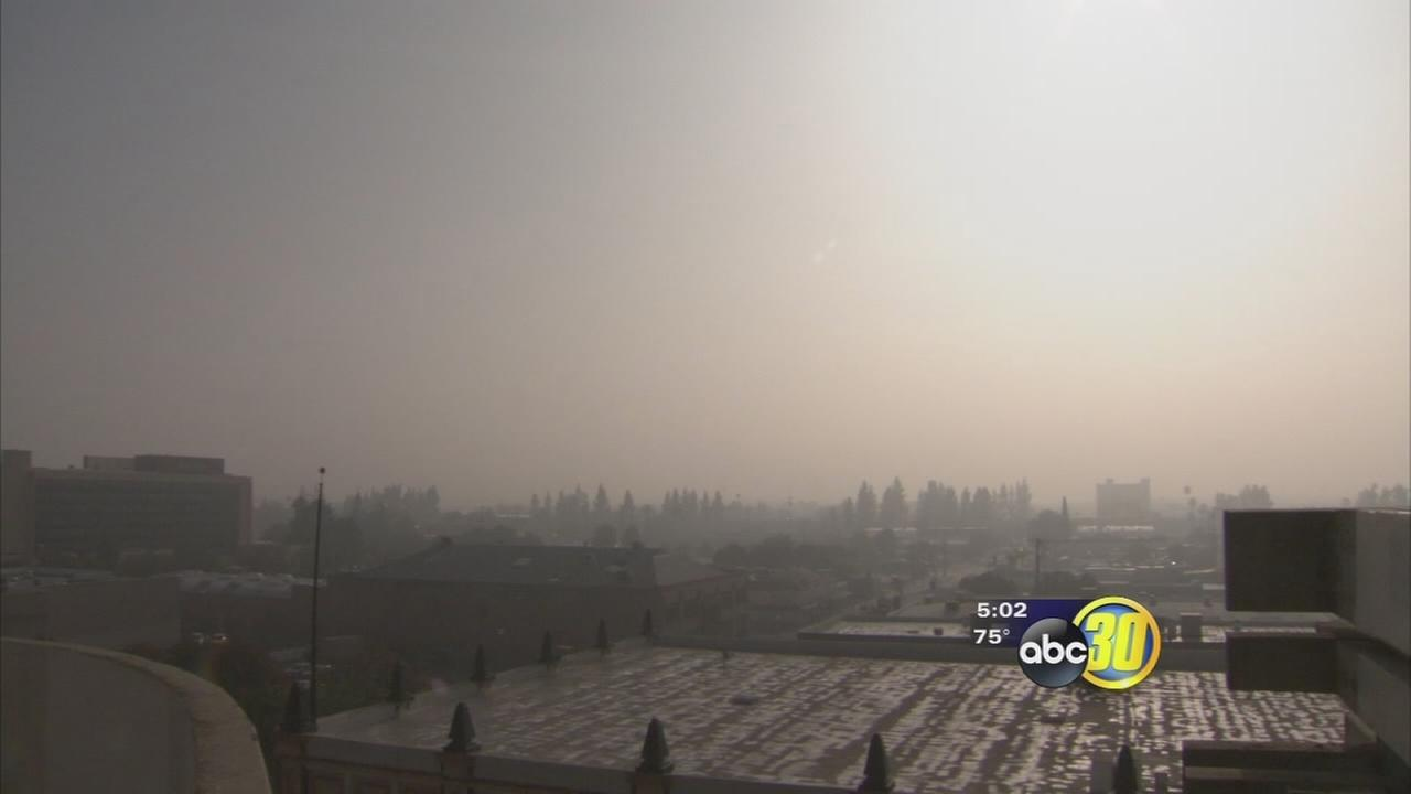 Officials: Bad air, fog create perfect storm of problems in Valley