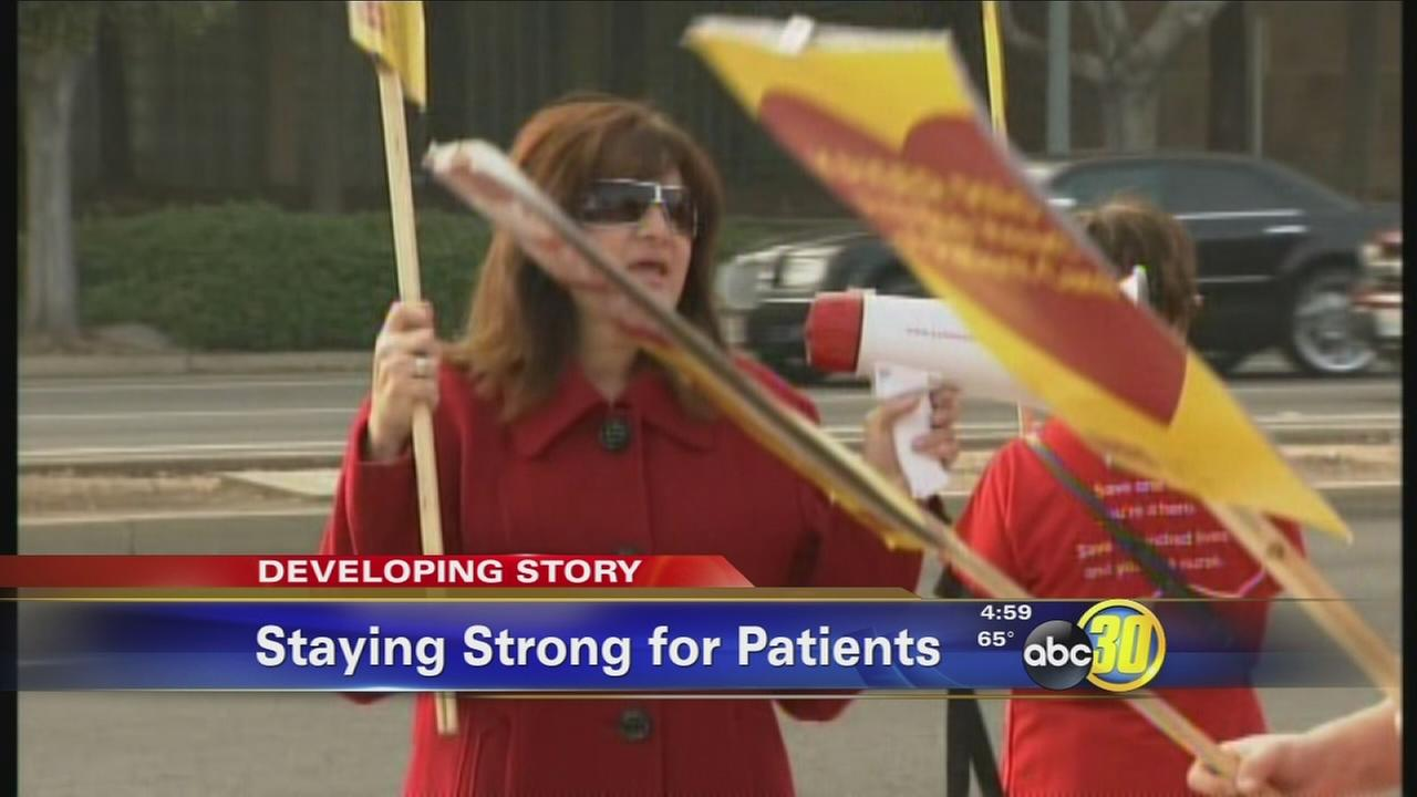 Kaiser Nurses Strike