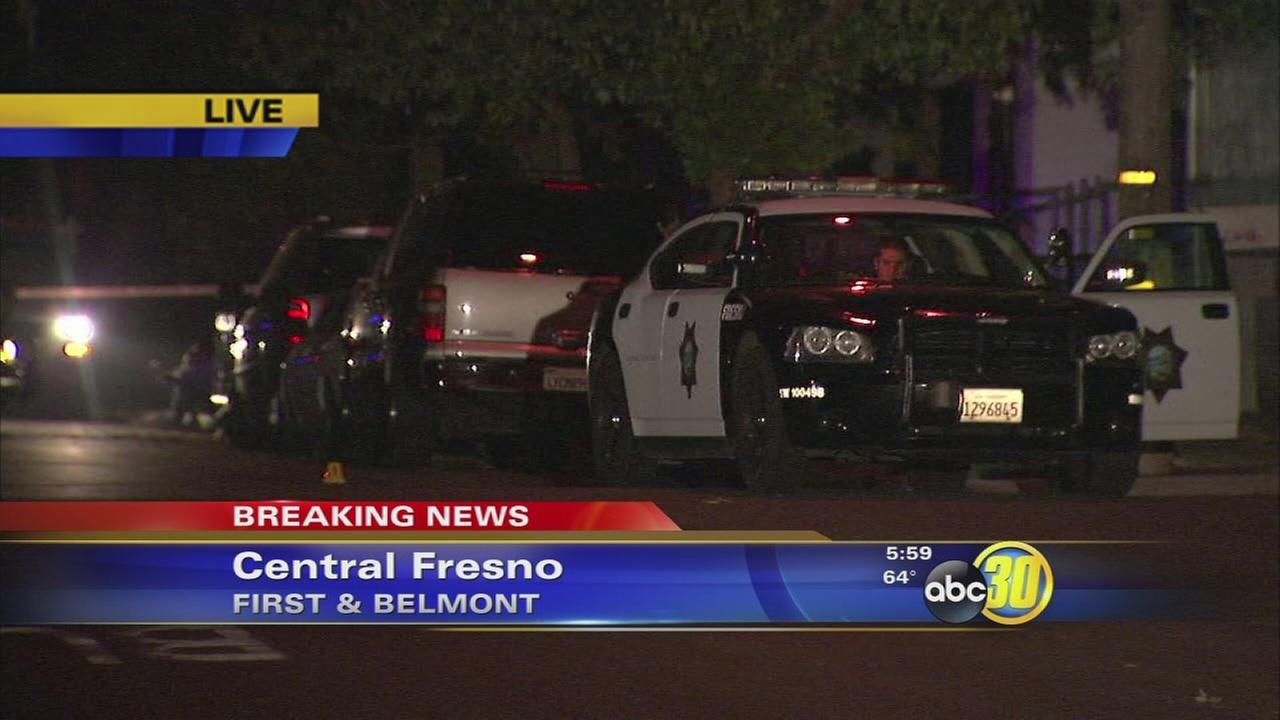 Gunfire injures two people in Central Fresno