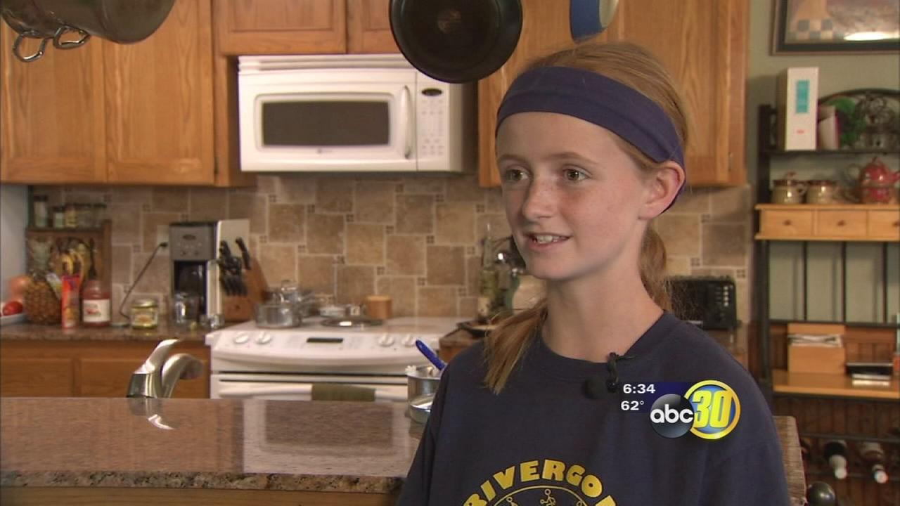 Coarsegold girl competes in Uncle Bens Beginners Cooking Contest