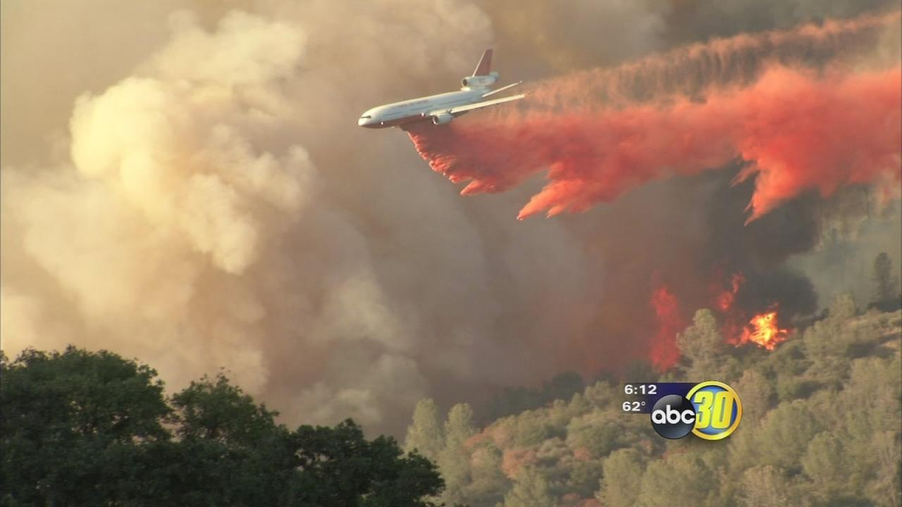 Recovery effort underway after wildfire in Oakhurst