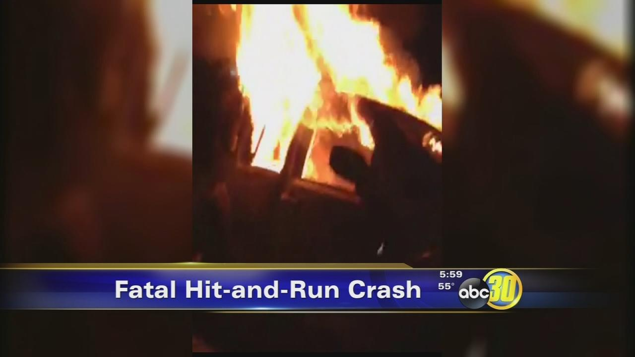 Mom, daughter dead after fiery hit-run crash in SE Fresno