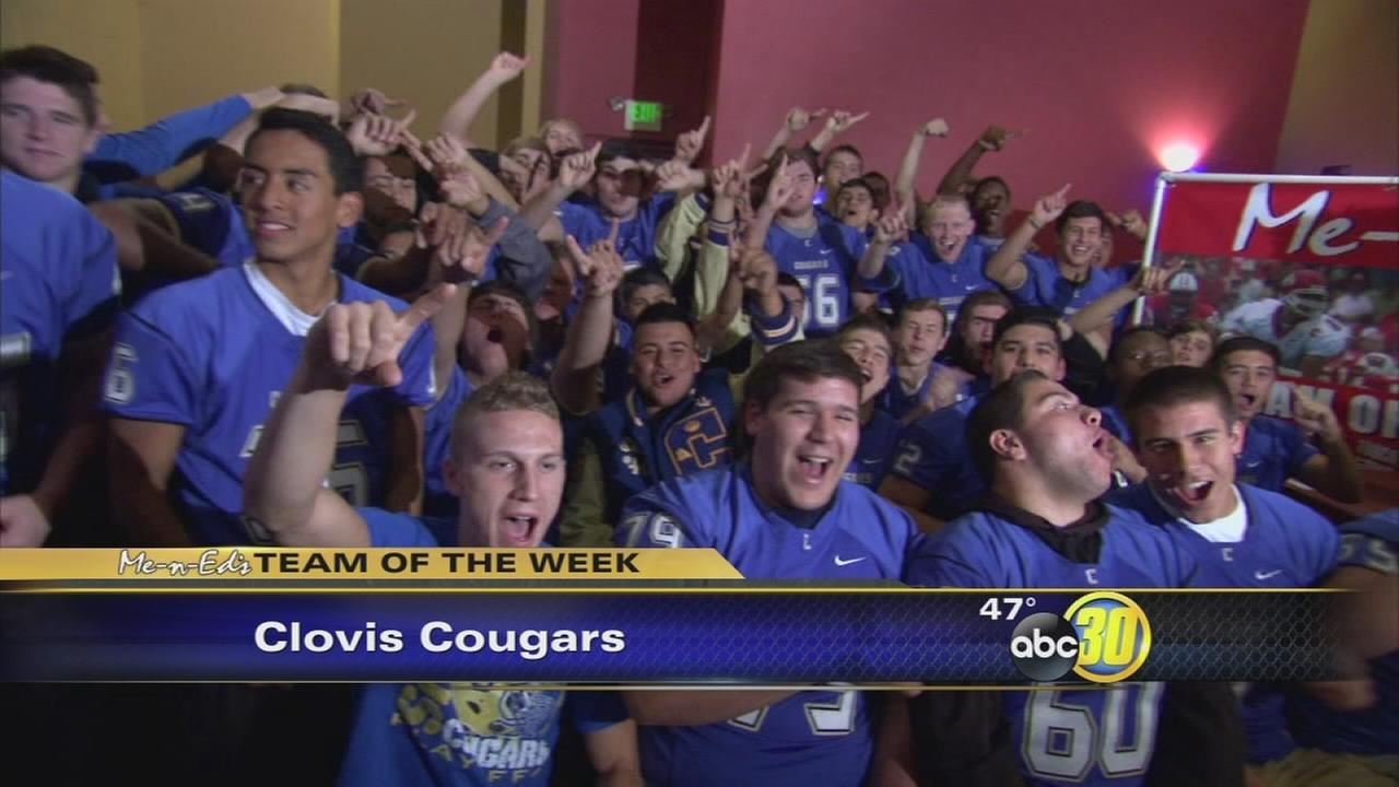 Me-N-Eds Team of the Week: Clovis Cougars