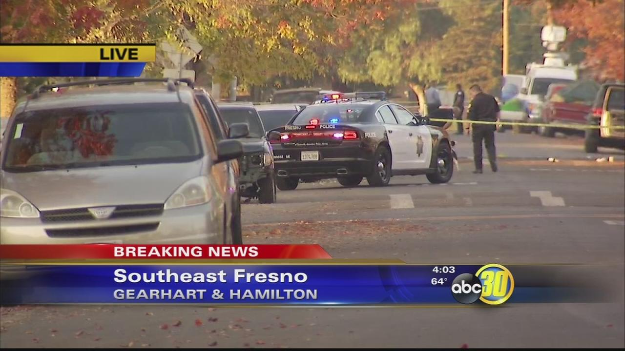 Two people shot in Southeast Fresno
