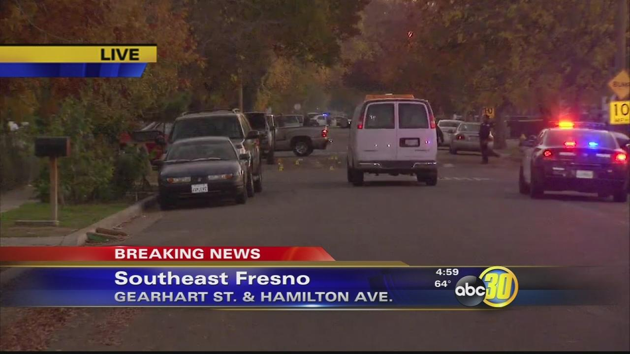 Police: 2 wounded in gang-related shooting in Southeast Fresno