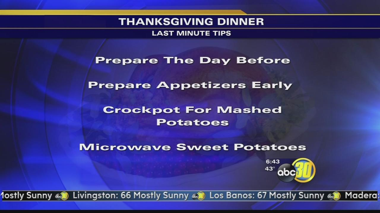 Chef Shayna - Last Minute Thanksgiving tips