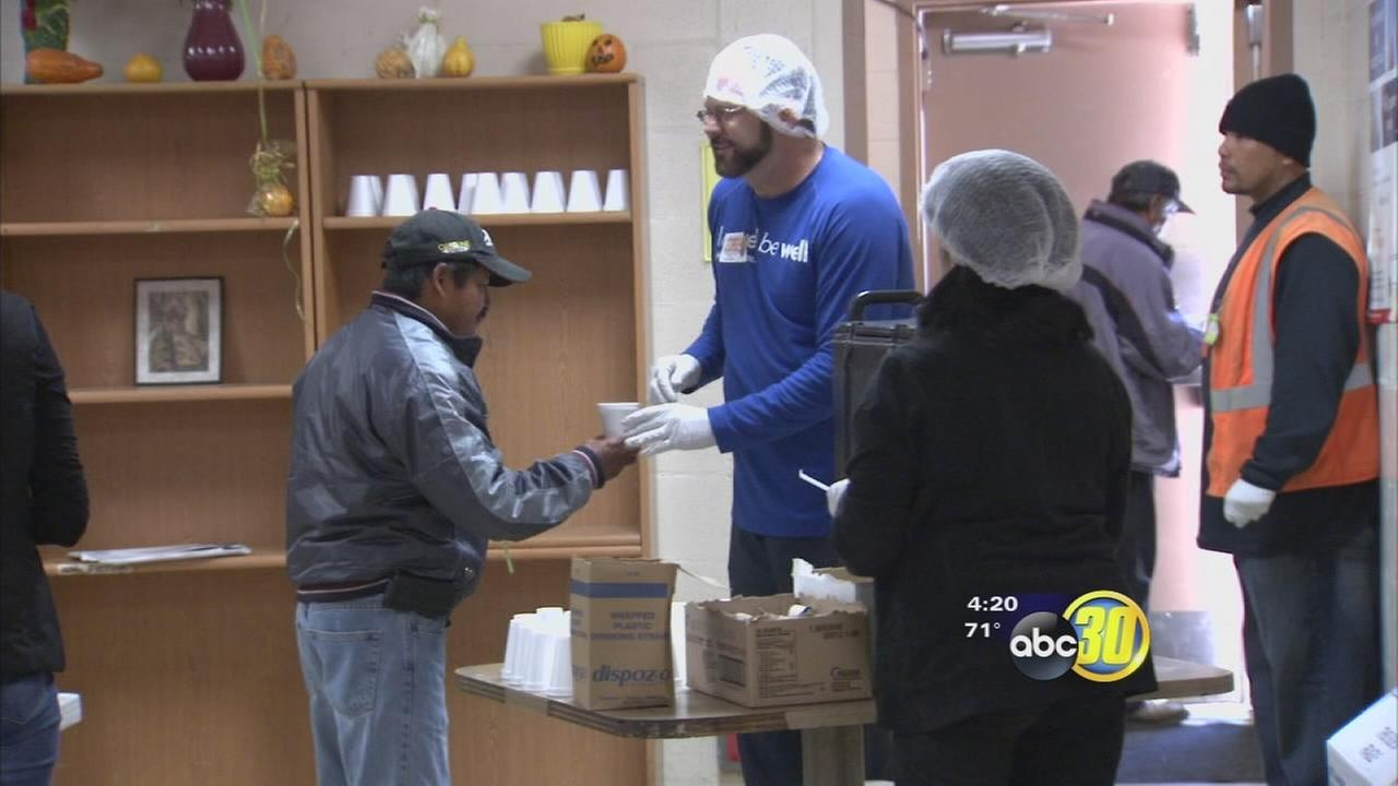 Poverello House serves Thanksgiving meal to those in need