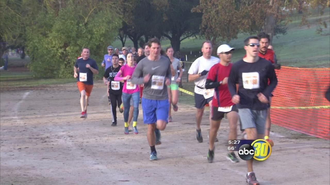 15th annual Turkey Trot held at Woodward Park