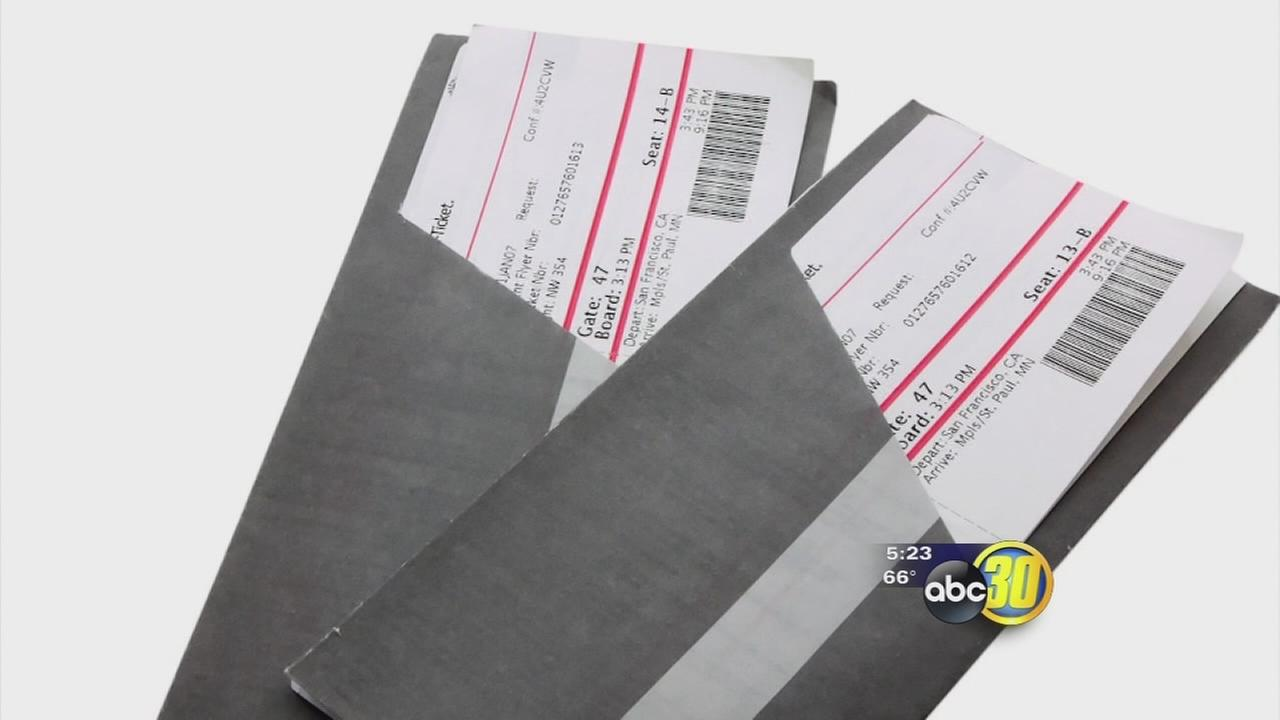 Scammers lure victims with free airline tickets