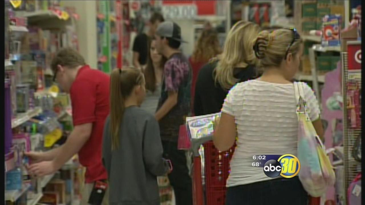 Black Friday shoppers hit Valley stores