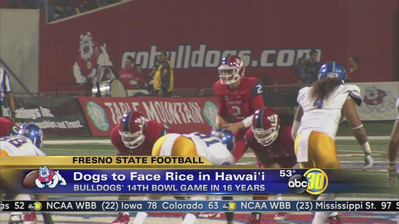 Fresno State to play in Hawaii Bowl on Christmas Eve
