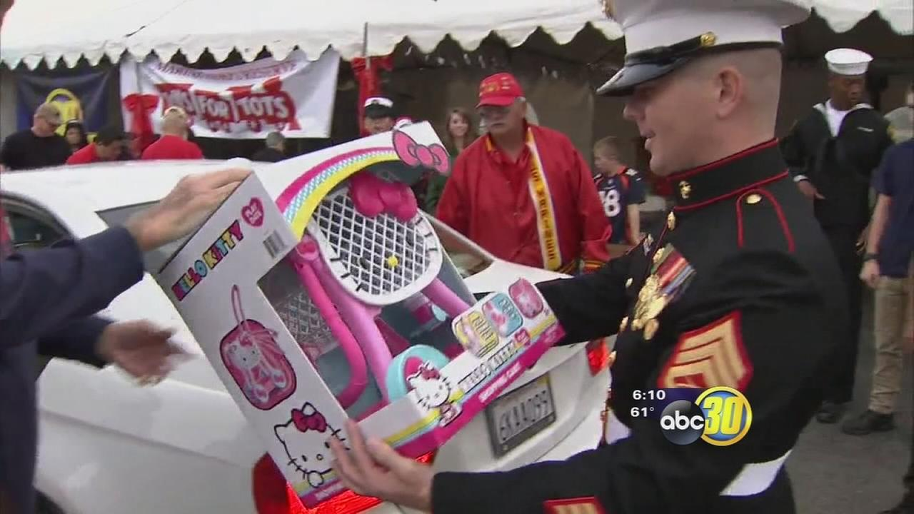 Hells Angels Toys For Tots : Abc news kfsn fresno and central valley