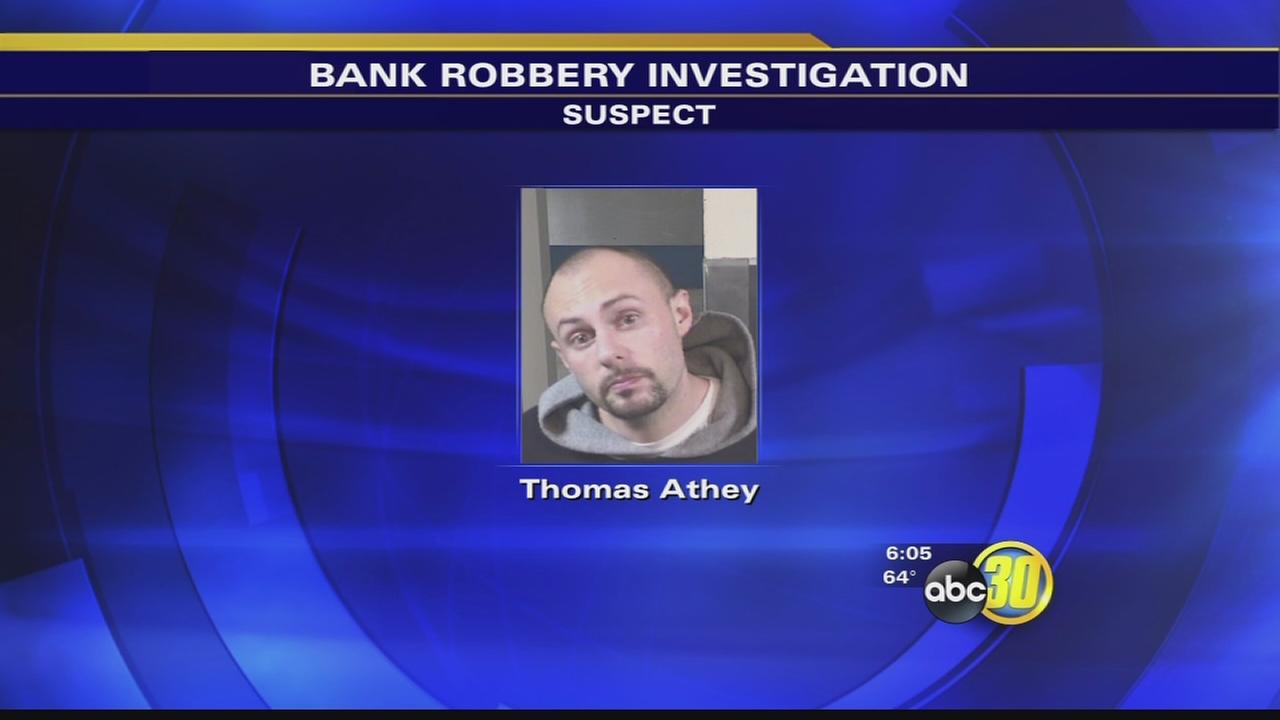 Southeast Fresno bank robbery suspect nabbed at home