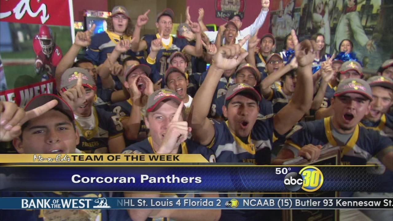 Me-N-Eds Team of the Week: Corcoran Panthers