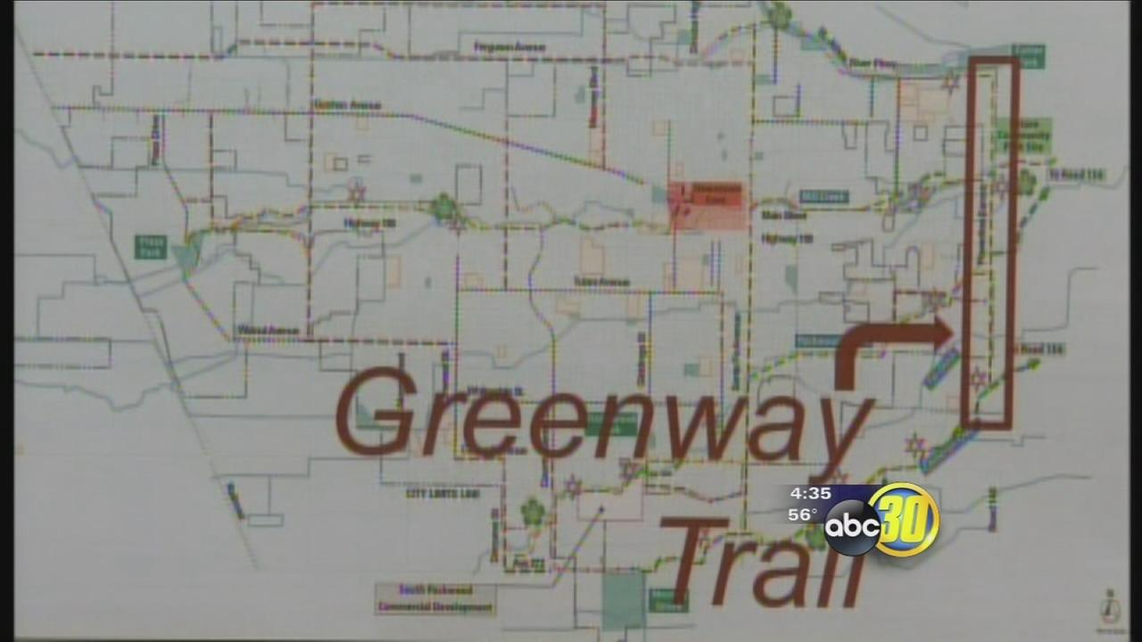 Trail Proposed to Connect North and South Visalia