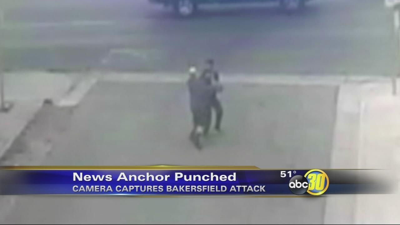 Bakersfield news anchor attacked outside of station