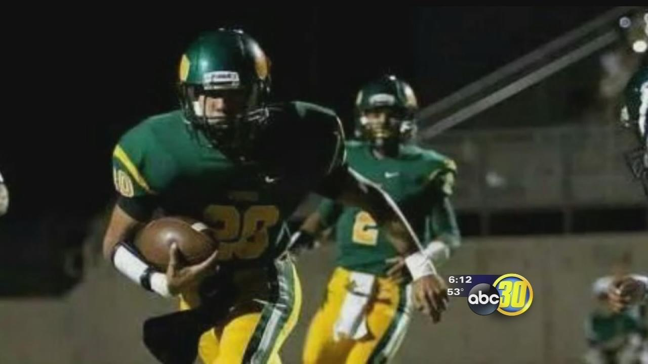 Kingsburg Football Player Fighting Cancer