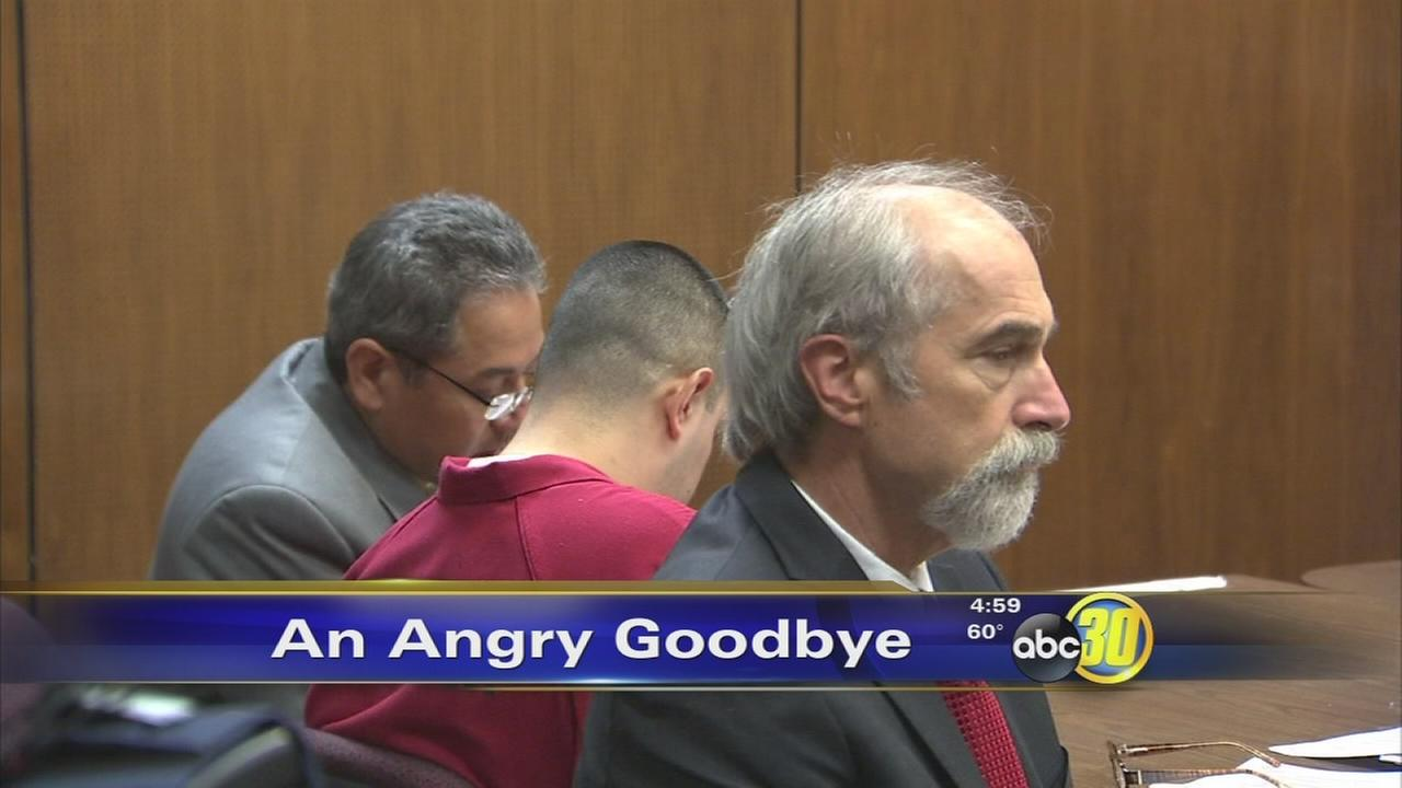Angry goodbye for Cherry Auction killer