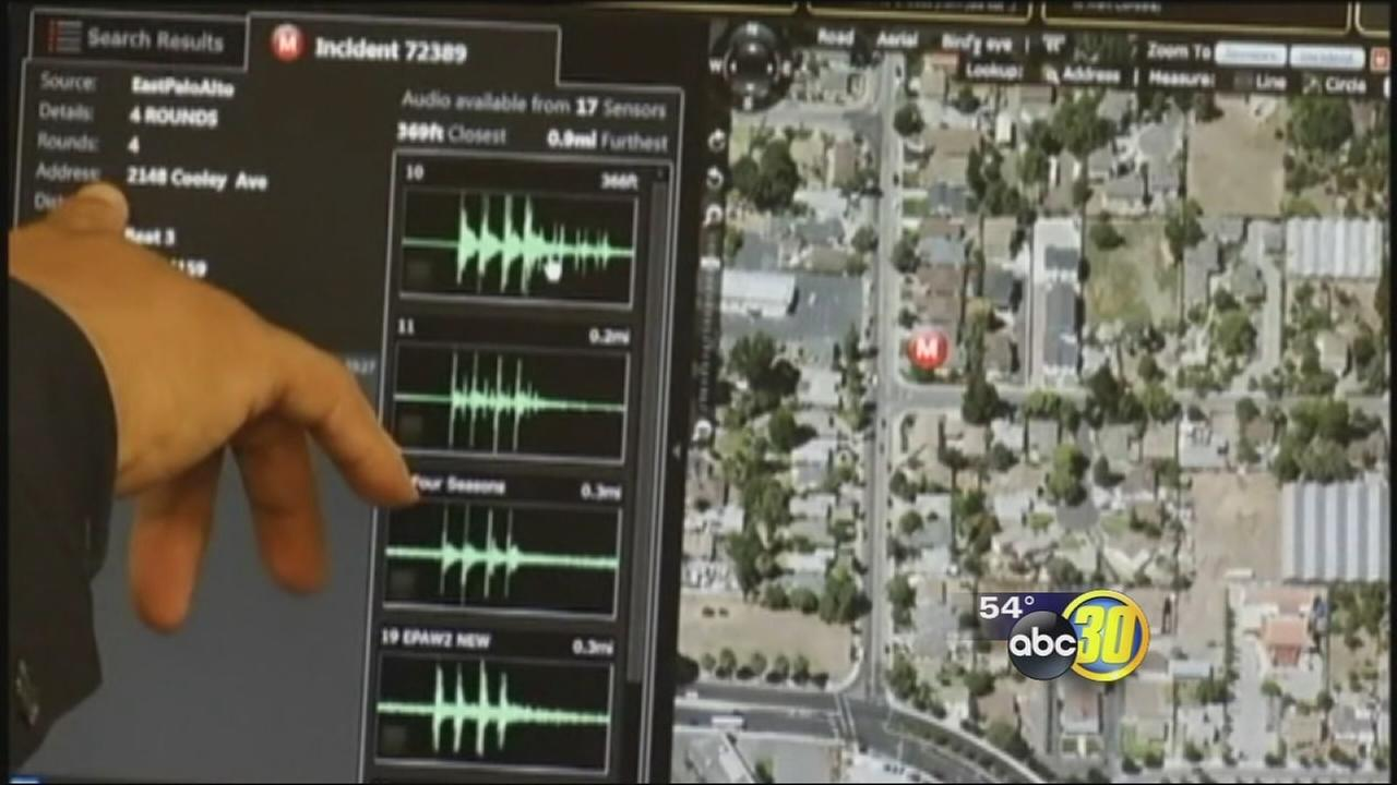 Fresno police to use gunshot-detection technology