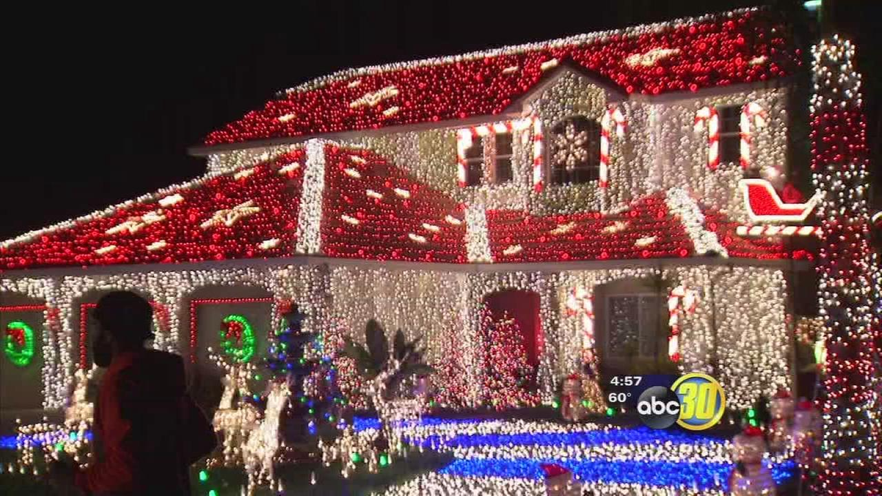 Sanger family competes for $50,000 on The Great Christmas Light Fight