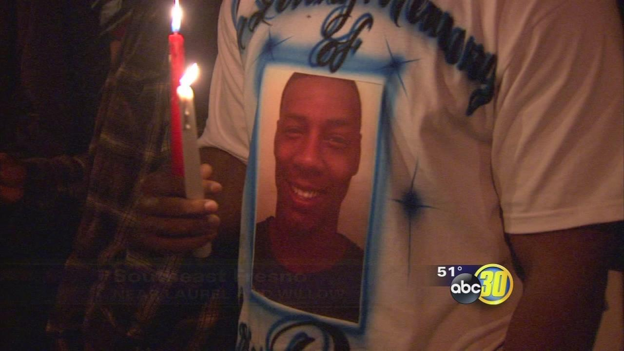 Man killed in Southeast Fresno double shooting remembered at vigil
