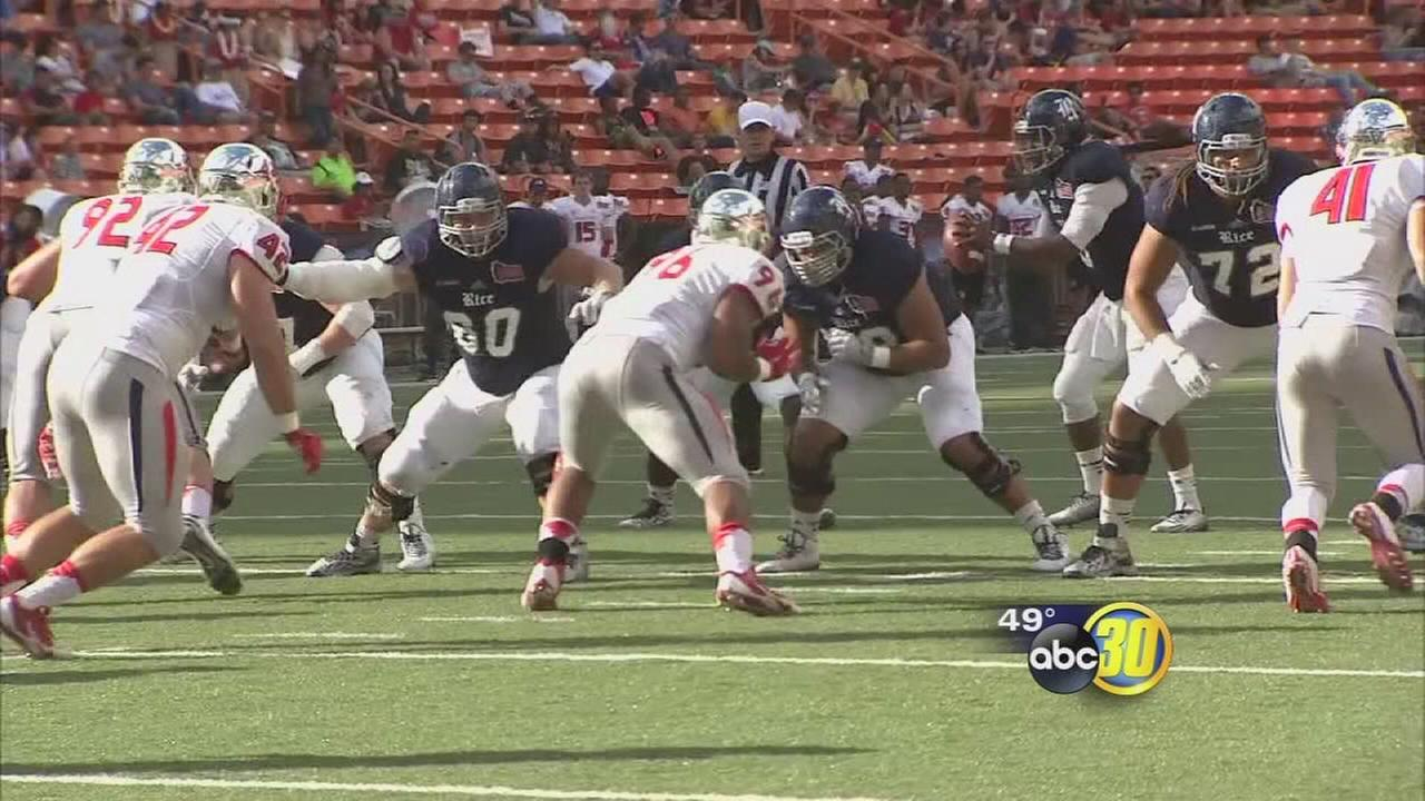 Fresno State pushed around in in Hawaii Bowl
