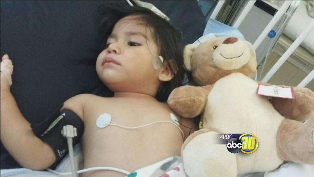 $17K raised for Fresno girl who had foot severed in lawnmower accident