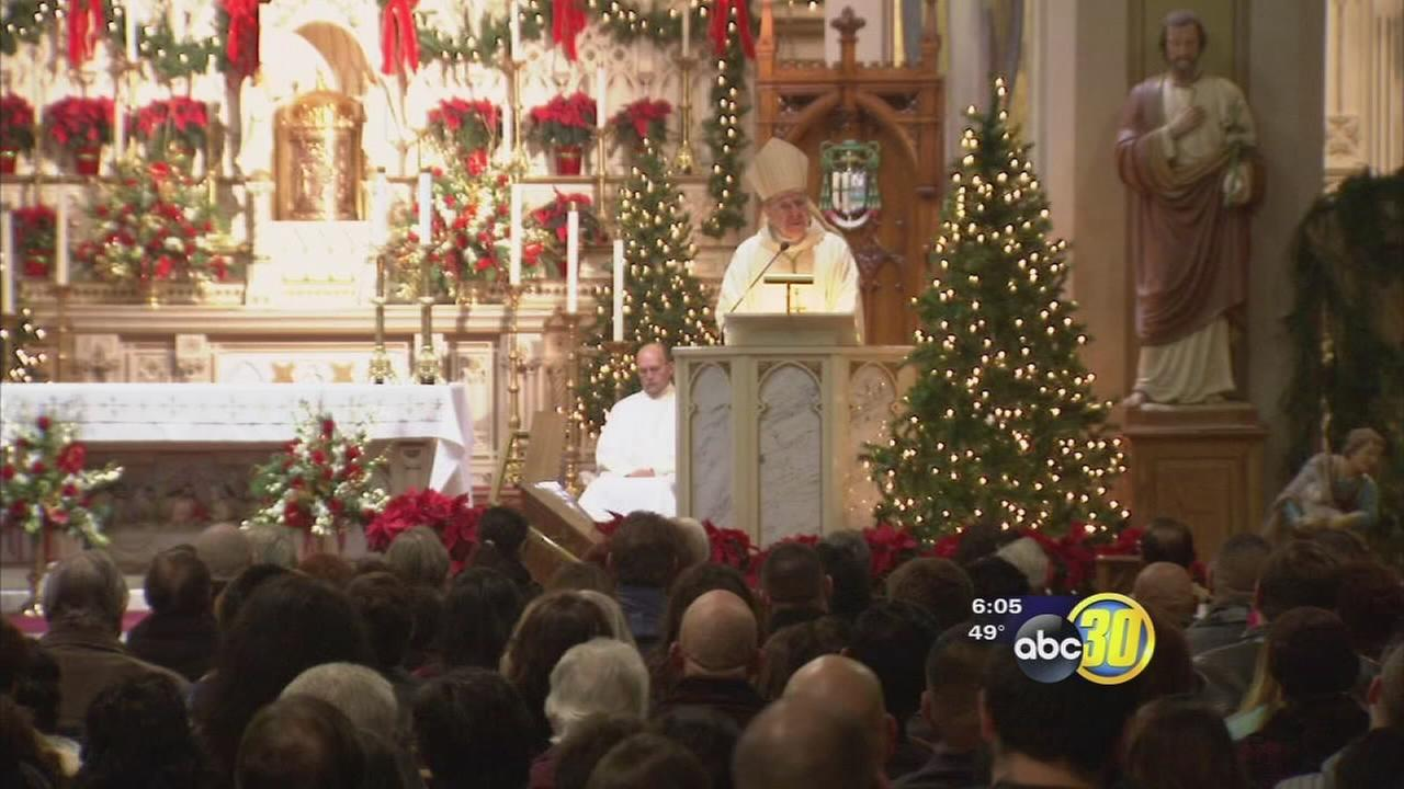 Valley families attend Christmas masses